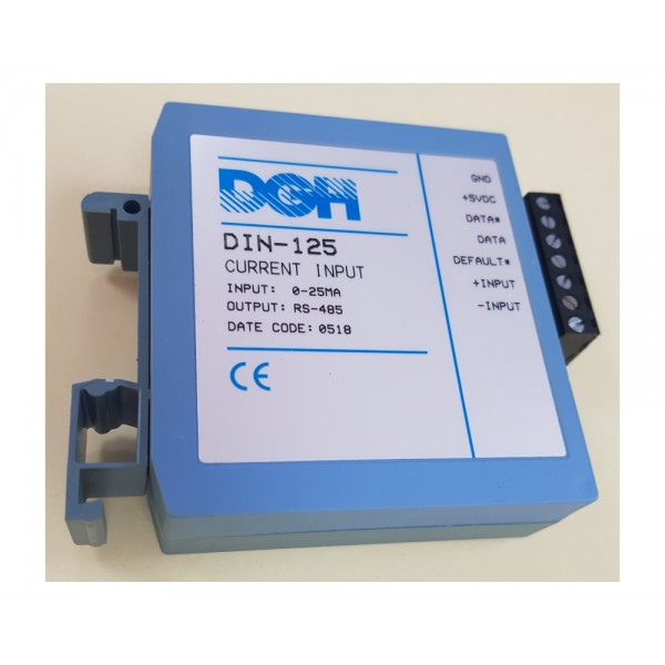 DGH DIN-160 Modbus Frequency Input Module Series