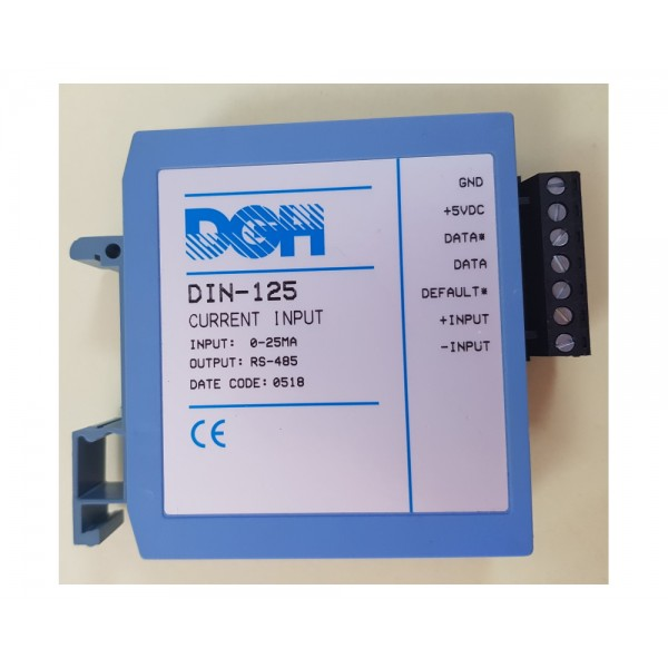 DGH DIN-110 Modbus Voltage Input Module Series