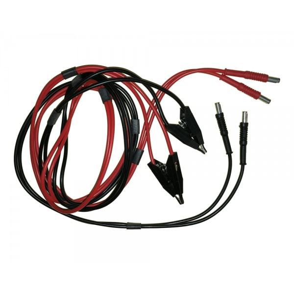 Rhopoint M210/9A 4-terminal spring clip connector lead set for M210 Milliohm Meter