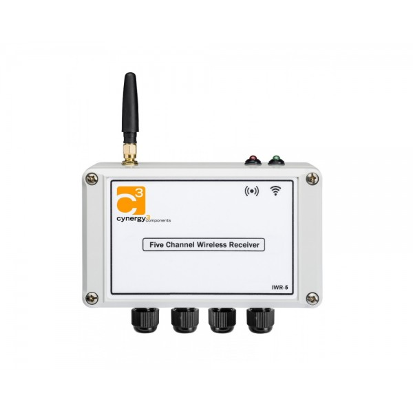 Cynergy3 IWR-5 Wireless Receiver - 5 channel