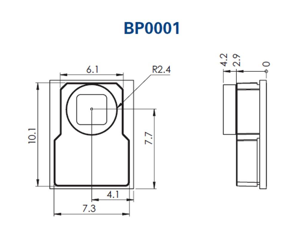 merit sensor bp series