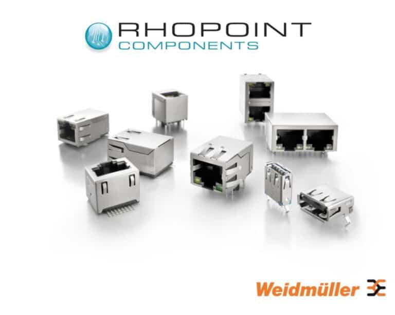 range of RJ45 and USB conectors fro Weidmueller
