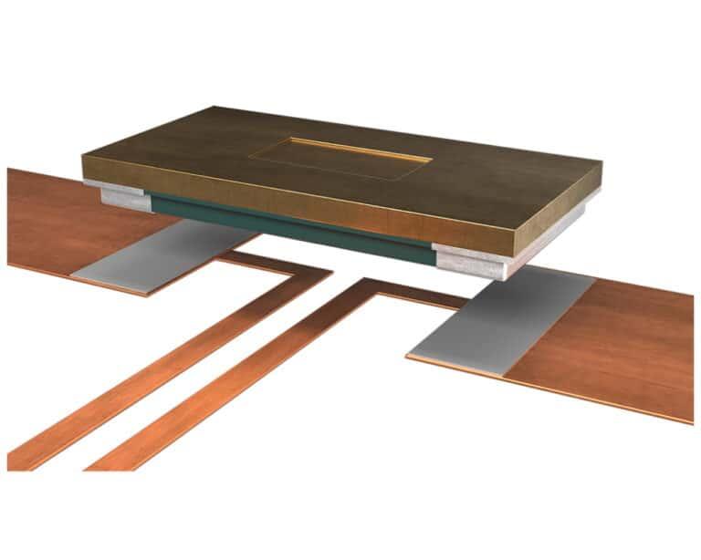 Iasabellenhuette FM resistor image over a solder layout