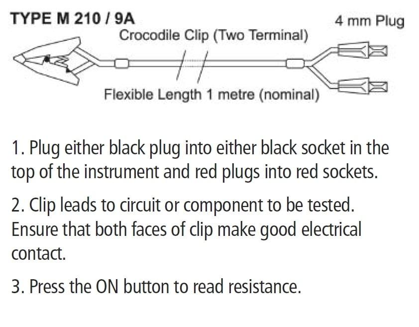 Rhopoint Instruments M210/9A drawning