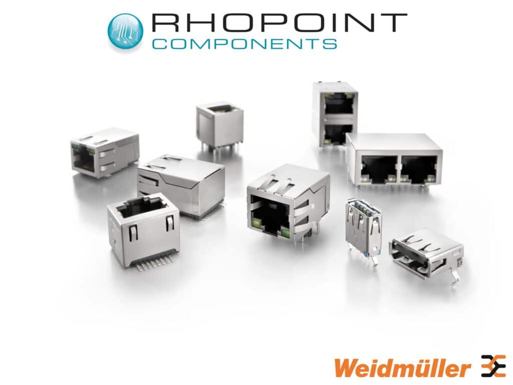 Weidmuller RJ45 and USB