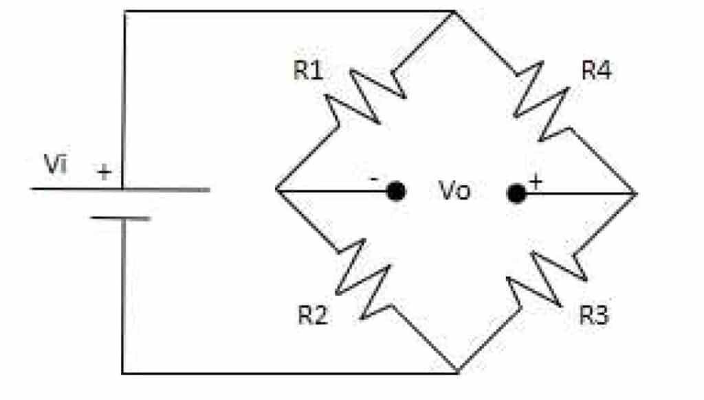 diagram of a Wheatstone Bridge